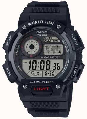 Casio Хронограф хронометрического времени AE-1400WH-1AVEF