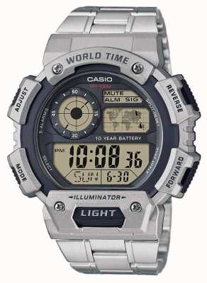 Casio Хронограф хронометрического времени AE-1400WHD-1AVEF