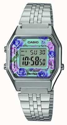 Casio Цветочный набор для печати из нержавеющей стали LA680WEA-2CEF