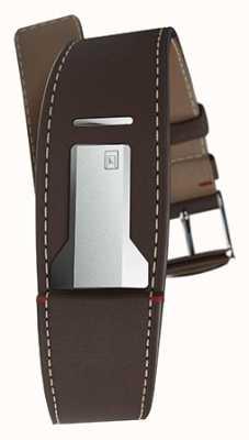 Klokers Klink 01 шоколадно-коричневый ремешок шириной 22 мм длиной 230 мм KLINK-01-MC4