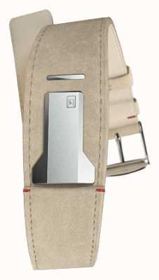 Klokers Klink 01 серый алькантара ремешок только 22 мм шириной 230 мм длиной KLINK-01-MC6