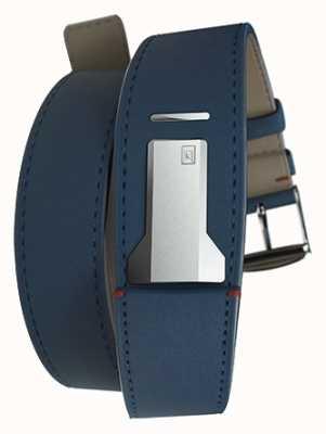 Klokers Klink 02 индиго синий двойной ремешок только 22 мм широко 420 мм длиной KLINK-02-420C3