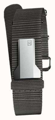 Klokers Klink 03 черный текстильный единственный ремешок шириной 20 мм 230 мм KLINK-03-MC3