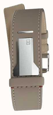 Klokers Klink 04 grege прямой одиночный ремешок шириной 22 мм 230 мм KLINK-04-LC9