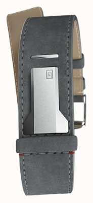 Klokers Klink 04 серый прямой прямой прямой ремешок шириной 22 мм KLINK-04-LC11