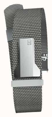 Klokers Klink 05 стальной серый миланский ремешок шириной 20 мм длиной 230 мм KLINK-05-MC1
