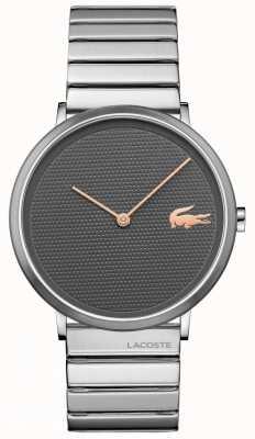 Lacoste Луна серый циферблат из нержавеющей стали и браслет 2010954