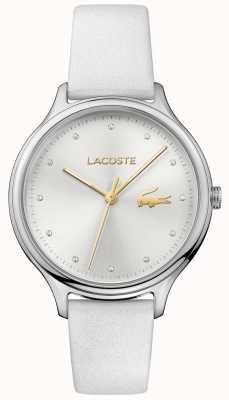 Lacoste Серебряный циферблат из белого набора 2001005