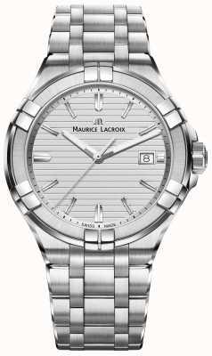 Maurice Lacroix Mens aikon нержавеющая сталь кварцевый серебристый циферблат AI1008-SS002-131-1
