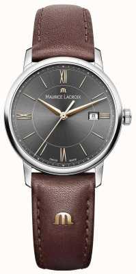 Maurice Lacroix Черный ремень из черного кожаного ремешка для женщин EL1094-SS001-311-1