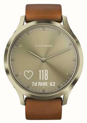 Garmin Vivomove hr (small / medium) премиум-активность трекер золото 010-01850-05