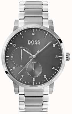 Boss Мужские серо-кислородные часы из нержавеющей стали 1513596