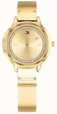 Tommy Hilfiger Женские часы с золотыми тонами 1781910
