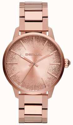 Diesel Женская каллилла розового золота браслет с блестками DZ5567