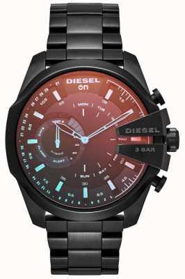 Diesel Mens megachief hybrid smartwatch с железным покрытием браслет DZT1011