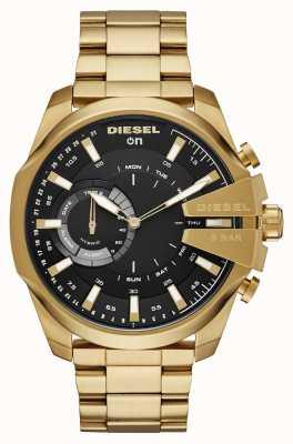Diesel Mens megachief hybrid smartwatch золотой браслет с тоном DZT1013