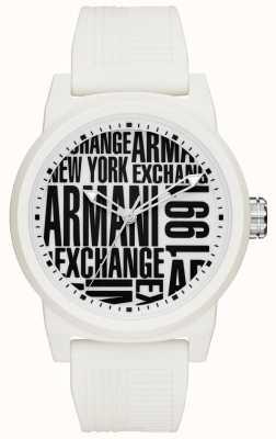 Armani Exchange Мужской силиконовый ремешок AX1442