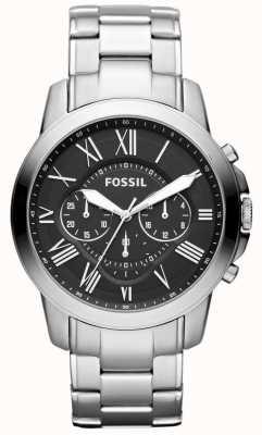 Fossil Ремень из нержавеющей стали для мужчин FS4736IE