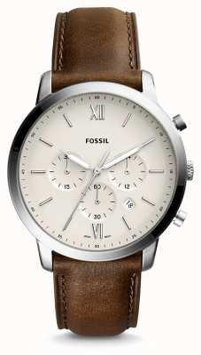 Fossil Мужской нейронный хроно-кожаный ремешок FS5380