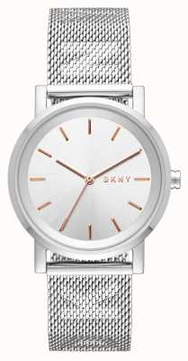 DKNY Жесткий браслет из нержавеющей стали NY2620