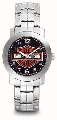 Harley Davidson Браслет из нержавеющей стали для мужчин 76A019