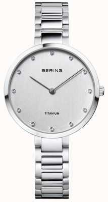 Bering Кристаллический чехол из титана и браслет 11334-770