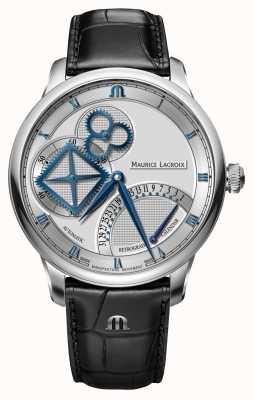 Maurice Lacroix Автоматические часы с квадратным колесом MP6058-SS001-110-1