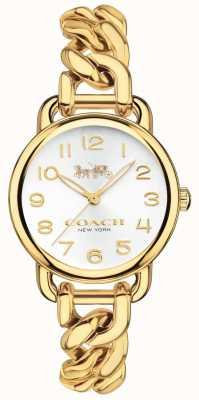 Coach Женские delancey позолоченные часы 14502801