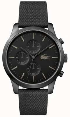 Lacoste Мужские 12.12 85-летние тройные черные часы 2010947
