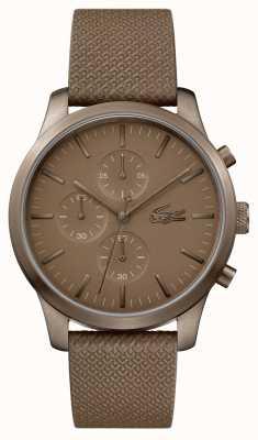 Lacoste Мужские часы 12.12 85-летнего хаки 2010949