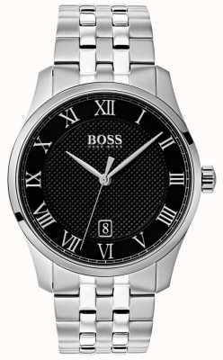 Hugo Boss Мужские часы из нержавеющей стали с черным циферблатом 1513588