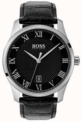 Hugo Boss Мужские черные черные черные черные часы 1513585