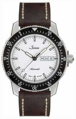 Sinn 104 st sa iw классические летние часы коричневого цвета 104.012-BL50202002007125401A