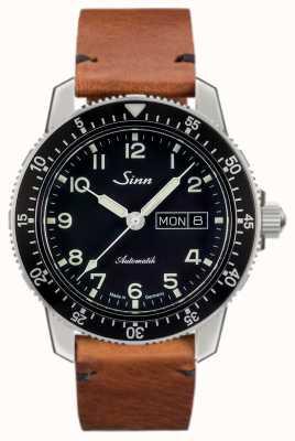 Sinn 104 st sa классический пилот-часы светло-коричневый старинный воловьей кожи 104.011-BL50205002401A