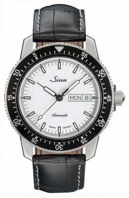 Sinn 104 st sa iw классический пилот-часы с аллигатором с тиснением 104.012-BL44201851001225401A