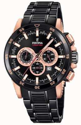 Festina Специальный выпуск 2018 chrono bike pvd plated watch F20354/1