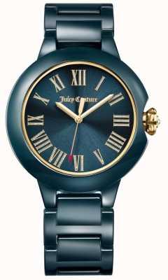 Juicy Couture Женские черные борландские керамические часы 1901653