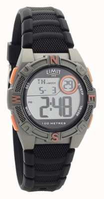 Limit Мужские черные резиновые ремешки цифровые / аналоговые часы 5695.71
