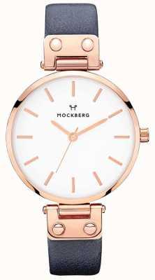 Mockberg Женские софи темно-синие кожаные часы MO119