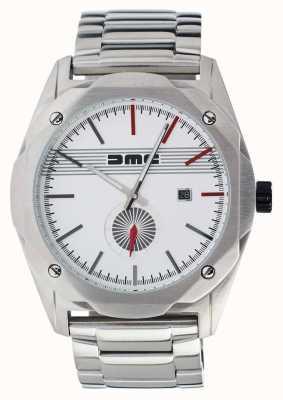 DeLorean Motor Company Watches Серебряный циферблат из нержавеющей стали сон DMC-4