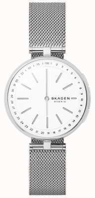 Skagen Signatur подключил смарт-часы из нержавеющей стали сетки SKT1400