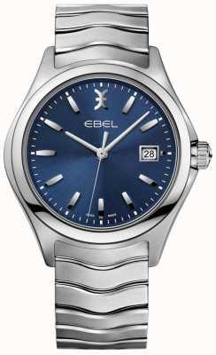 EBEL Мужская волна синий циферблат из нержавеющей стали 1216238