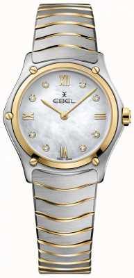 EBEL Женская спортивная классическая алмазная перламутровая циферблат 1216388