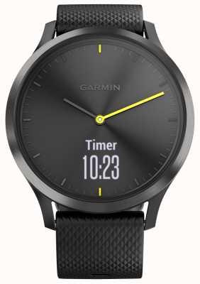 Garmin Vivomove hr активность трекер черный резиновый желтый акценты 010-01850-01
