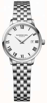 Raymond Weil Браслет из нержавеющей стали белого цвета toccata белого цвета 5988-ST-00300