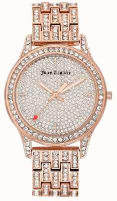 Juicy Couture Женские часы с браслетом из розового золота JC-1044PVRG