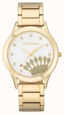 Juicy Couture Женские золотые тона с короной и браслет JC-1052WTGB