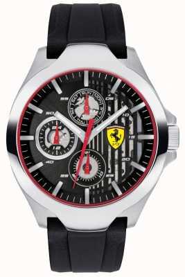 Scuderia Ferrari Черный черный хронограф черный черный ремешок 0830510