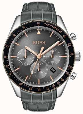 Boss Мужской трофейный серый циферблат 1513628