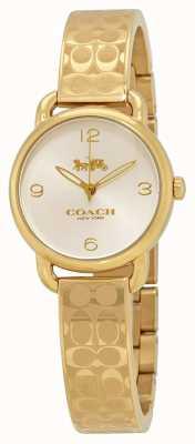 Coach Женские золотые часы delancey 14502892